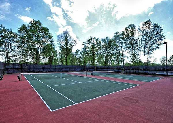Tennis court at the four seasons Manalapan